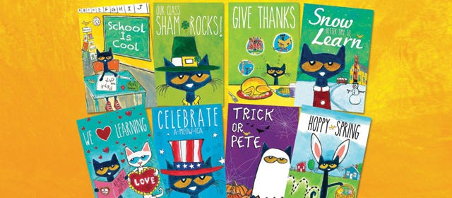Pete the Cat Activity Guides