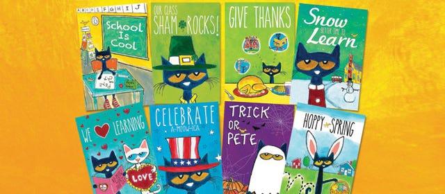Pete the Cat Activity Guides