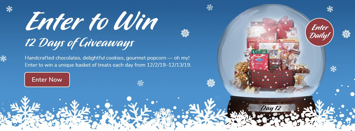 Enter to Win - 12 Days of Giveaways