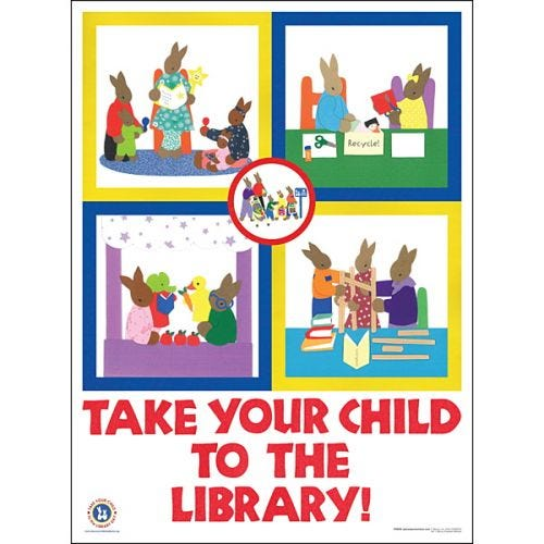 Take Your Child  to the Library
