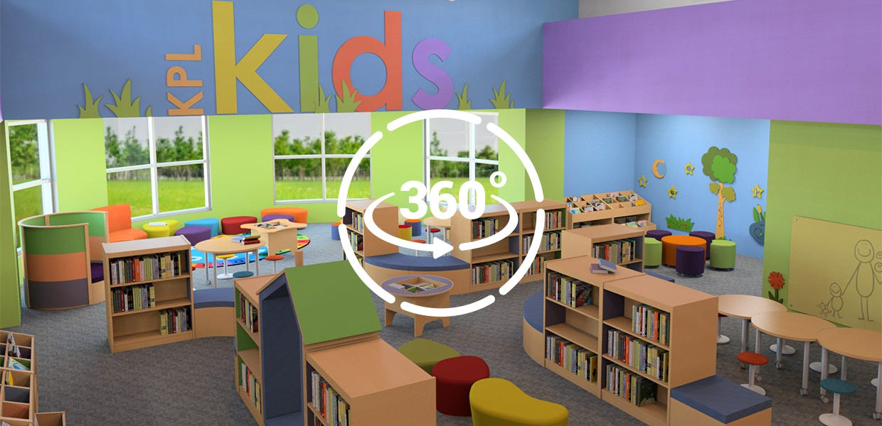 Interactive and Engaging Children's Area