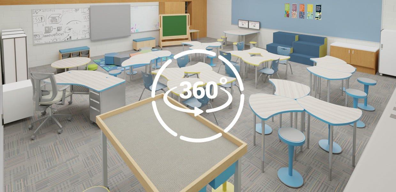 Flexible Elementary Classroom