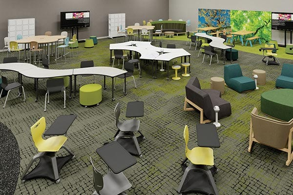 Nature-Inspired Classroom