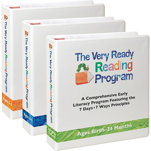 Very Ready Reader - 3 Curriculums