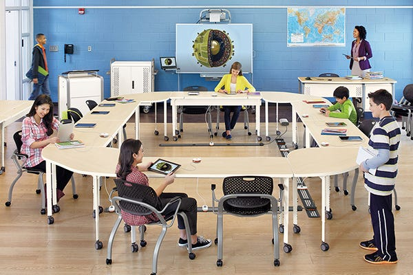 Device-friendly Learning Spaces