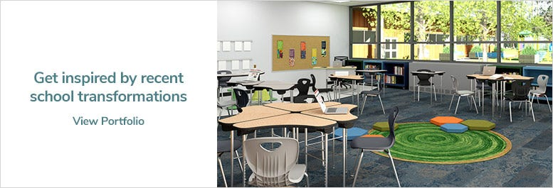 Get inspired by recent school transformations