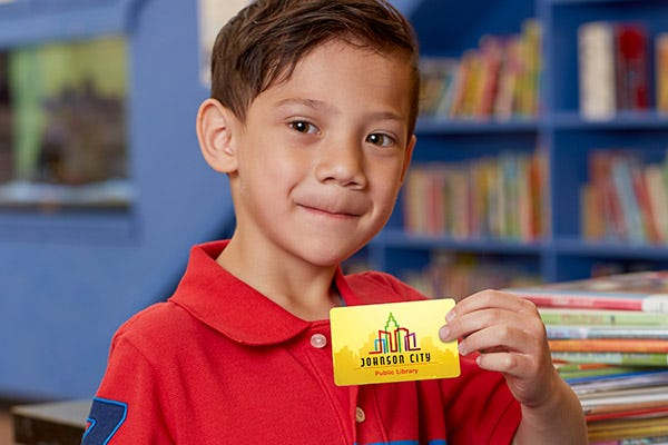 Library Card Sign-Ups