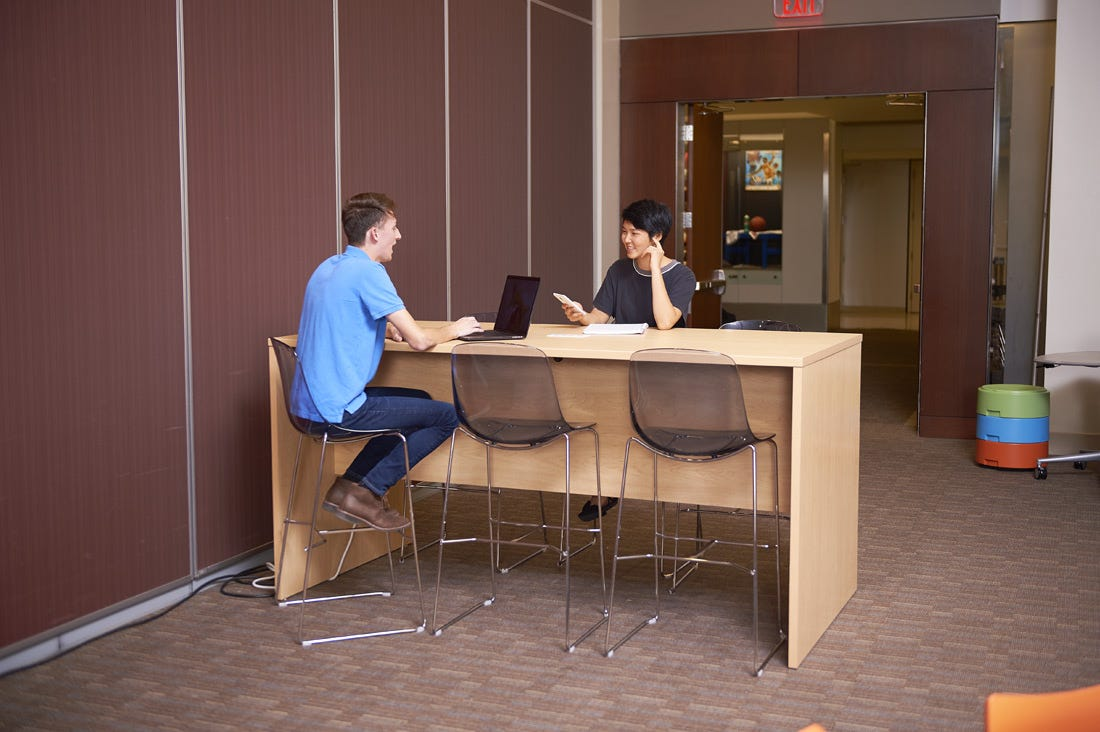 Learning Commons: Small Group Zone