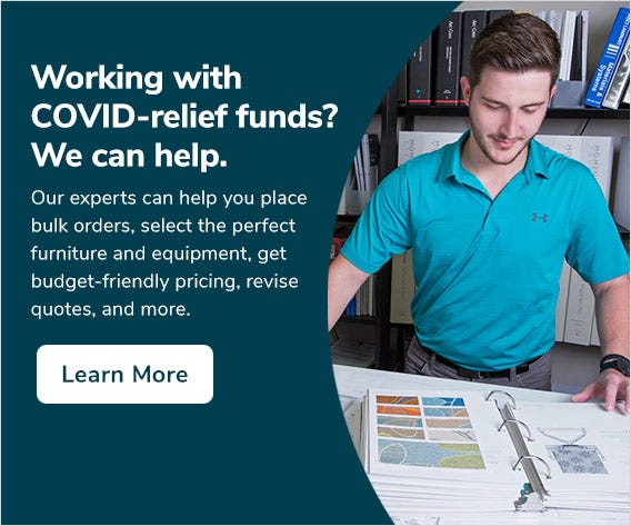 Working with COVID-relief funds? We can help.