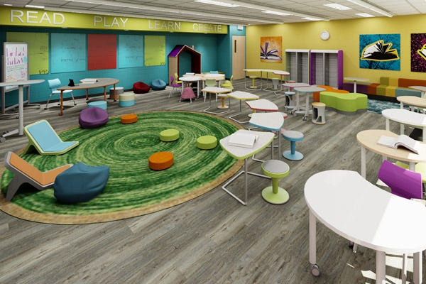 Flexible Seating to Maximize Your Learning Environment
