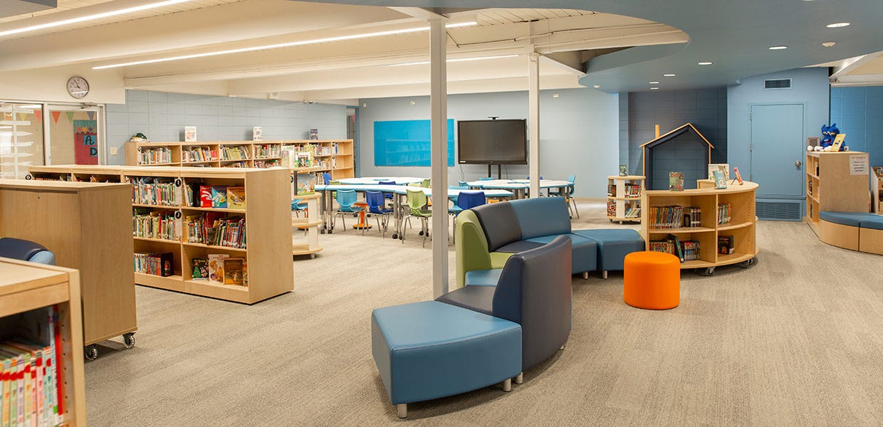 Zoned Elementary Library