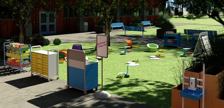 Pop-Up Outdoor Classroom